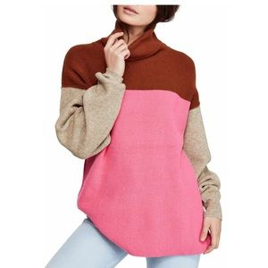 Free People Softly Structured Color-Blocked Tunic